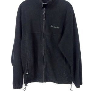 Columbia Womens Fleece Jacket Full Zip Long Sleeve